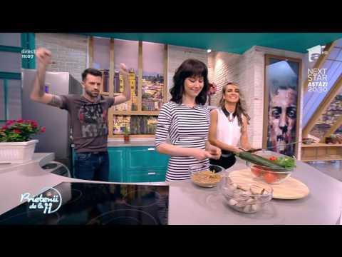 """Andreea Moldovan gătește: """"Paste cu creveţi şi zucchini"""""""