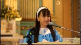 RESPONSORIAL PSALM - TASTE AND SEE