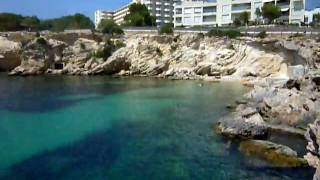 Our swimming hole in Ibiza