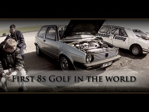 VW Golf MK2 AWD 900HP 8,89s @ 266kmh 16Vampir