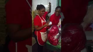 Valentine day moves at ransbet supermarket