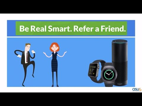 Be Real Smart. Refer a Friend!