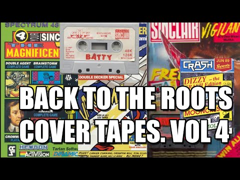 ZX SPECTRUM BACK TO THE ROOTS VOL 4 | COVER TAPES | YOUR SPECTRUM | CRASH |MAGAZINES