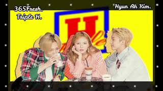 03  8D Audio Triple H 트리플 H  ~ 365 Fresh  Use