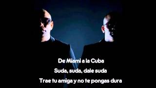 Pitbull   Piensas Dile La Verdad Audio ft Gente De Zona  Letra