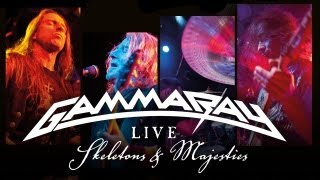 """GAMMA RAY - """"Skeletons & Majesties LIVE"""" - Official Trailer"""