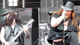 Back From Hell - Texas Hippie Coalition @ Bospop 2010