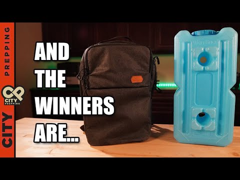 12 Days Giveaway Winners - Vanquest Addax 18 and Waterbricks