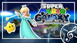 Super Mario Galaxy - Rosalina's Comet Observatory - Cover