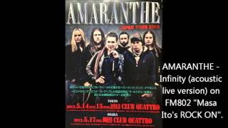 AMARANTHE - Infinity (acoustic live version)