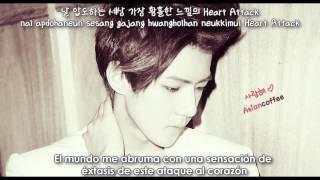 EXO-K - Heart Attack [Sub Español + Han + Rom]