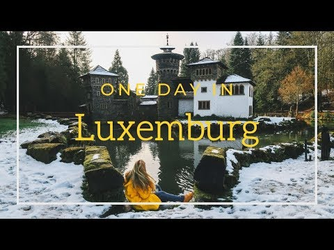 Luxemburg in one day: a hidden castle, a dreamy waterfall & hiking dark narrow canyons