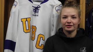 Mathea Fischer UBC Women's Hockey - Grindstone Mentorship Series Vol. 2