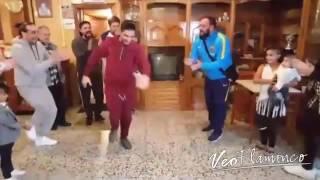 Joni el Remache bailando por bulerias   VEOFLAMENCO