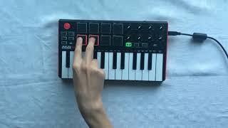 Making Lil Pump - Esskeetit Instrumental (AKAI MPK Mini)