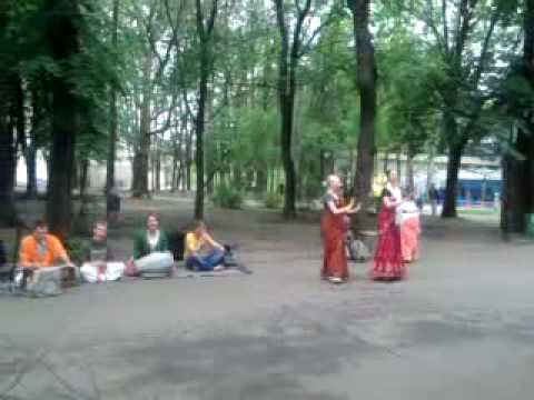 unbelieveable…….indian culture in ukraine hare rema hare krishna