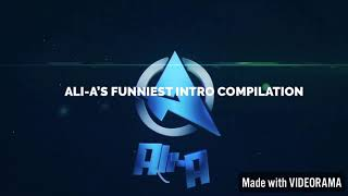 ALI-A FUNNIEST FORTNITE INTRO COMPILATION