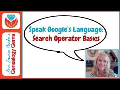 Speak Google's Language: Google Search Operator Basics