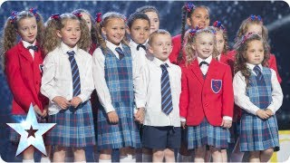 Preskool dance troupe Get Ready to Rhumble! | Semi-Final 3 | Britain's Got Talent 2013