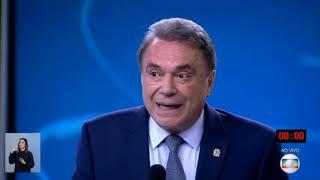 Alvaro Dias Faz Plateia e Bonner Rir Durante Debate   Eleições 2018 - Rede Globo   04/10/18