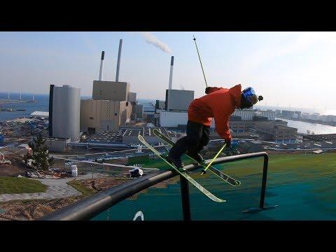 GoPro: Jesper Tjäder — CopenHill | Skiing On Top a Building