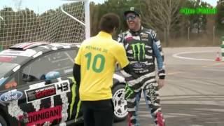 Neymar vs Ken Block 2016 ( 720 HD).