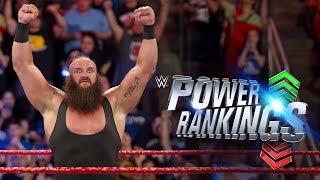 WWE.com Power Rankings 25 de agosto de 2017