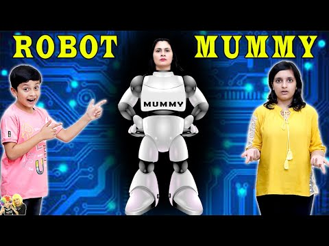 ROBOT MUMMY   A Short Movie   Types of mummy   Aayu and Pihu Show