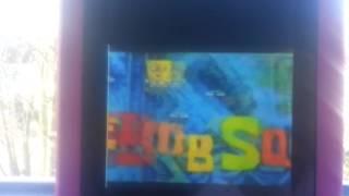 Spongebob squarepants reversed