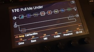 "Line 6 Helix Dream Theater ""Pull Me Under"" Tone Patch"