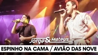 Jorge e Mateus - Espinho na Cama/ Avião das Nove - [DVD Ao Vivo Em Goiânia] - (Clipe Oficial)