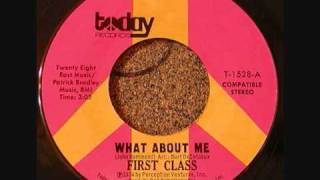 First Class - What About Me.wmv