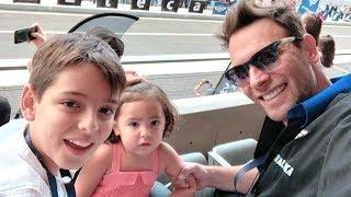 Odalys Ramírez y Pato Borghetti de paseo con sus hijos Gia y Santino