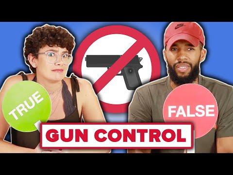 Americans Play True Or False: Gun Control Edition