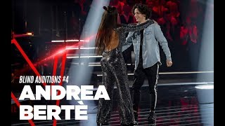 """Andrea Bertè """"We Don't Talk Anymore"""" - Blind Auditions #4 - TVOI 2019"""