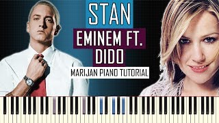 How To Play: Eminem ft. Dido - Stan | Piano Tutorial