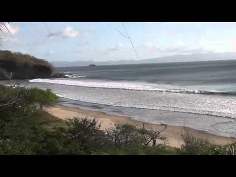 Waves in Playa Escameca, Nicaragua