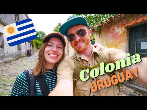 Colonia del Sacramento 🇺🇾 | Visiting URUGUAY'S Charming Colonial Town + Eating Uruguayan Food! 😋