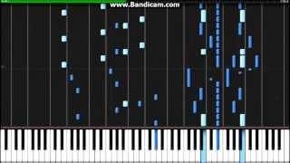 Guren no Yumiya - Shingeki no Kyojin OP - Synthesia (Piano)(Animenz)