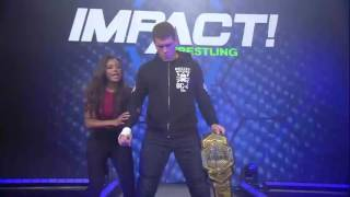 Moose vs. Eli Drake.... Enter Cody   IMPACT March 23rd, 2017