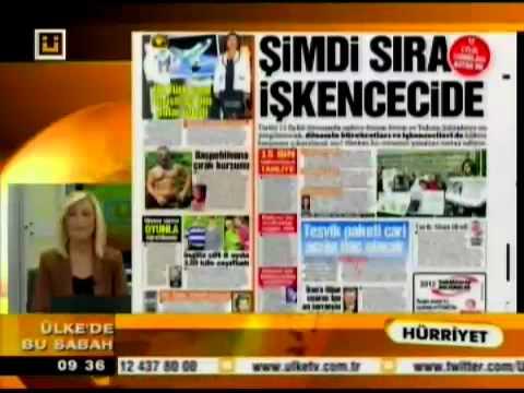 Ülke Tv-Ülke'de Bu Sabah-Gazete Başlıkları
