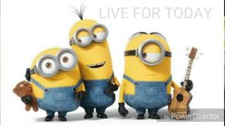 live for today cover (minions) MATTYB