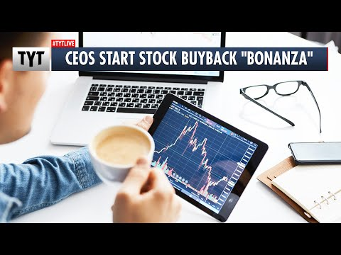 Corrupt CEOs Start Stock Buyback