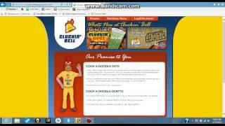 Cluckin' Bell Website