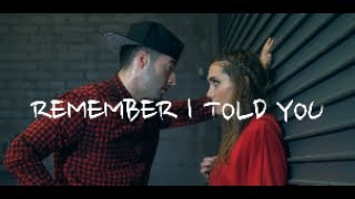 Nick Jonas ft. Anne Marie - Remember I Told You (Dance by Alyson Stoner & James Marino)