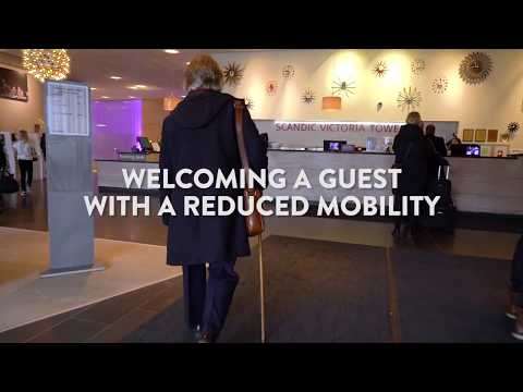 WELCOMING A GUEST WITH A REDUCED MOBILITY