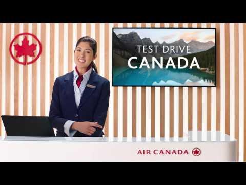 Test Drive Canada   Air Canada