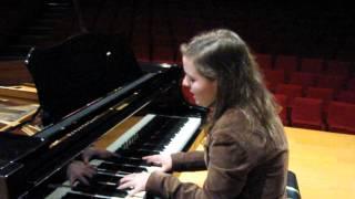 Ana Margarida ao piano