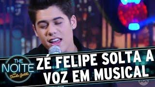 "The Noite (07/09/16) - Zé Felipe canta ""Maquiagem Borrada"""