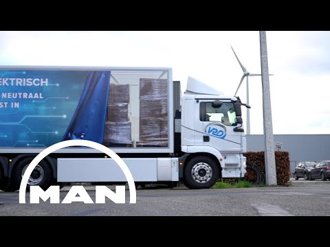 The MAN eTGM for VDR Group Belgium | MAN Trucks & Bus